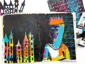 An Adventure of an Art Journal Page thumbnail